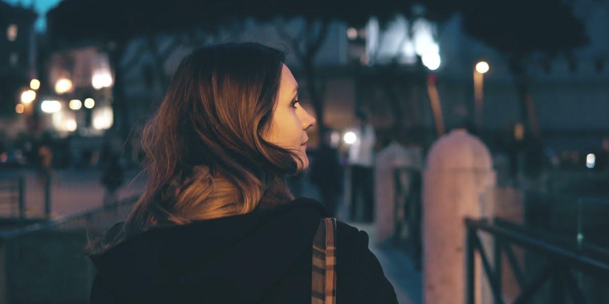 Woman - Street - Walking - Alone